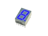 7-segment LED Display, CA, Blue