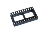 socket, 24-pin, solder-tail